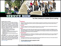 Screenshot of Servicebook.org